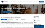 CI Sociología de las Migraciones (CI25)