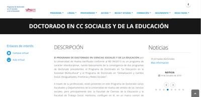 Doctorado Dpto. Sociología y Trabajo Social